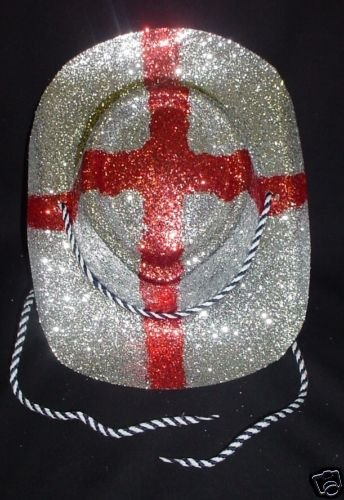 The glittery England cowboy hat, because you're not on a hen party