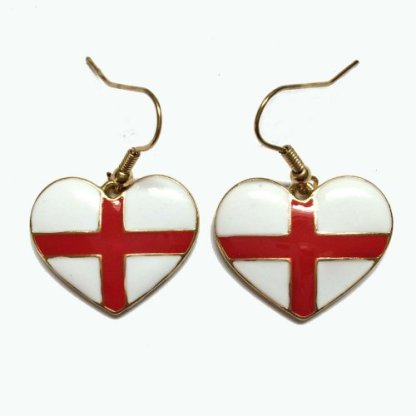The England earrings, because they won't be made of silver and your ears will fall off