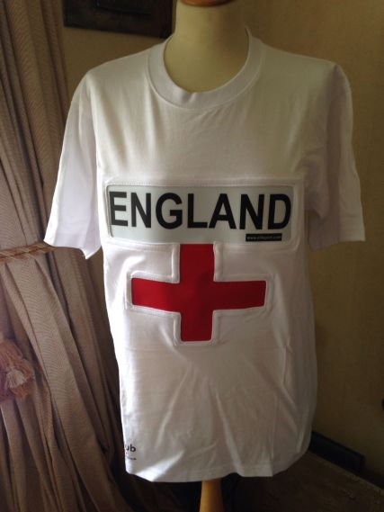 The flashing England t-shirt, because you don't want to electrocute yourself