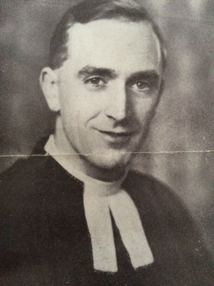 Grandpa Cliff, aka Pomp, who served as a chaplain