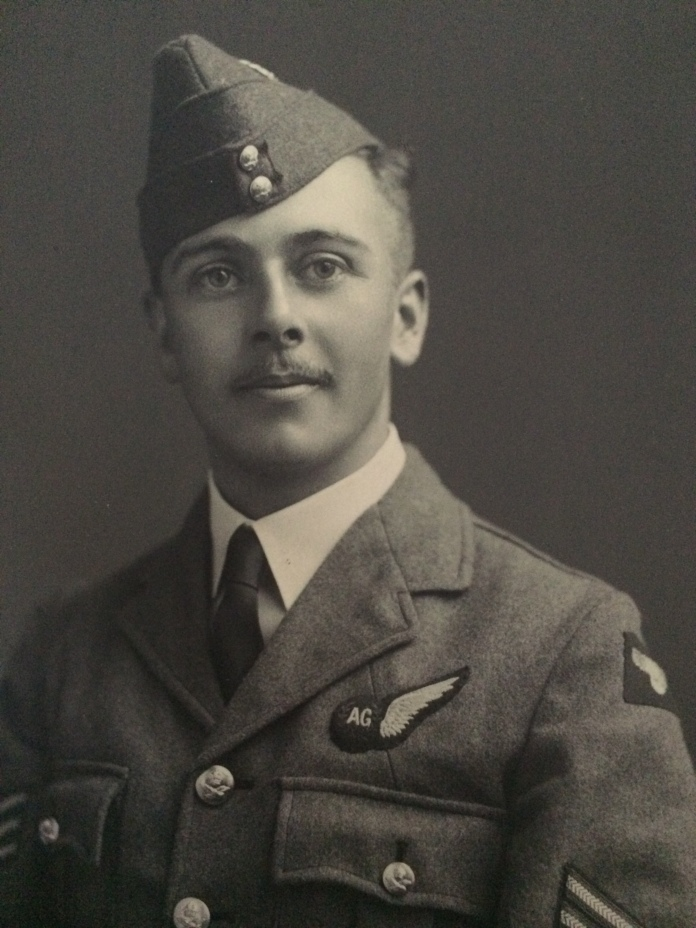 Grandpa Powell served in the RAF, including during The Battle of Britain