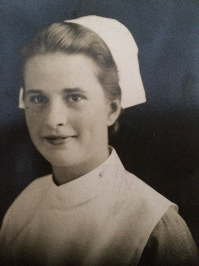 Grandma Cliff's sister, Sheila, served as a nurse
