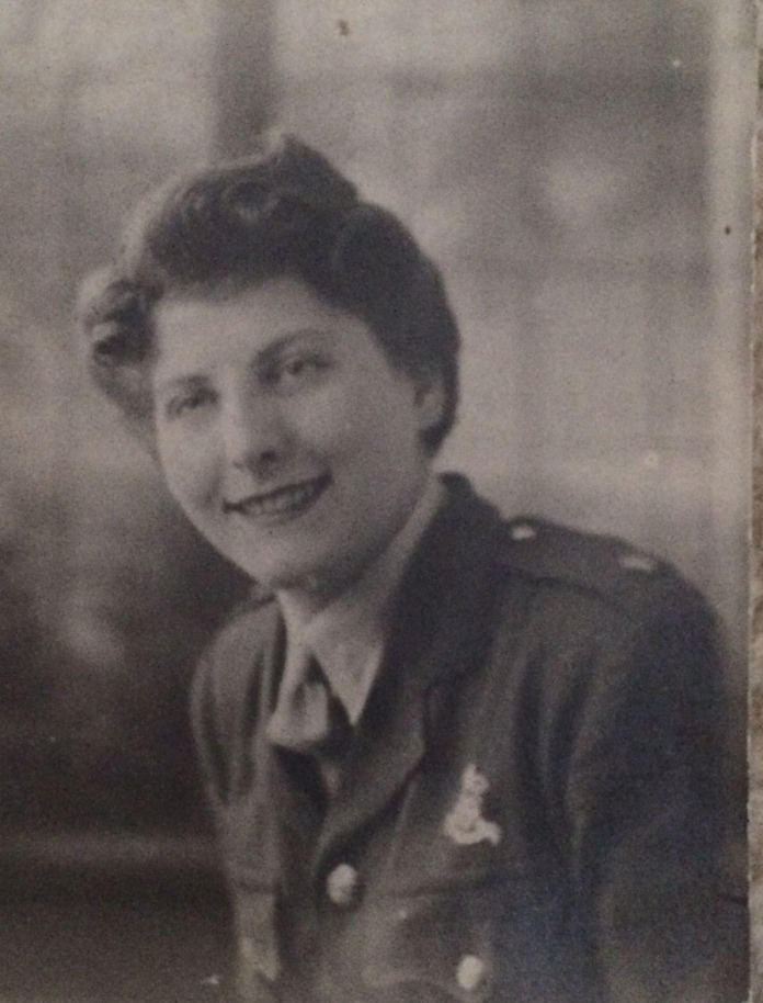 Nanny Powell was a land girl who also taught soldiers to shoot