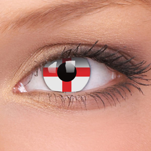 The England contact lenses, because you want to keep your eyesight, thank you very much