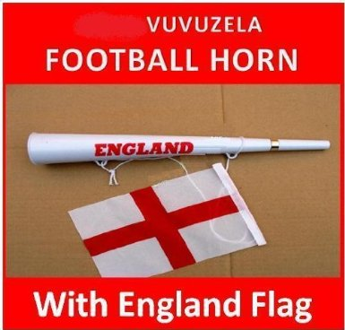 The England vuvuzela, because you want to keep the few friends you have