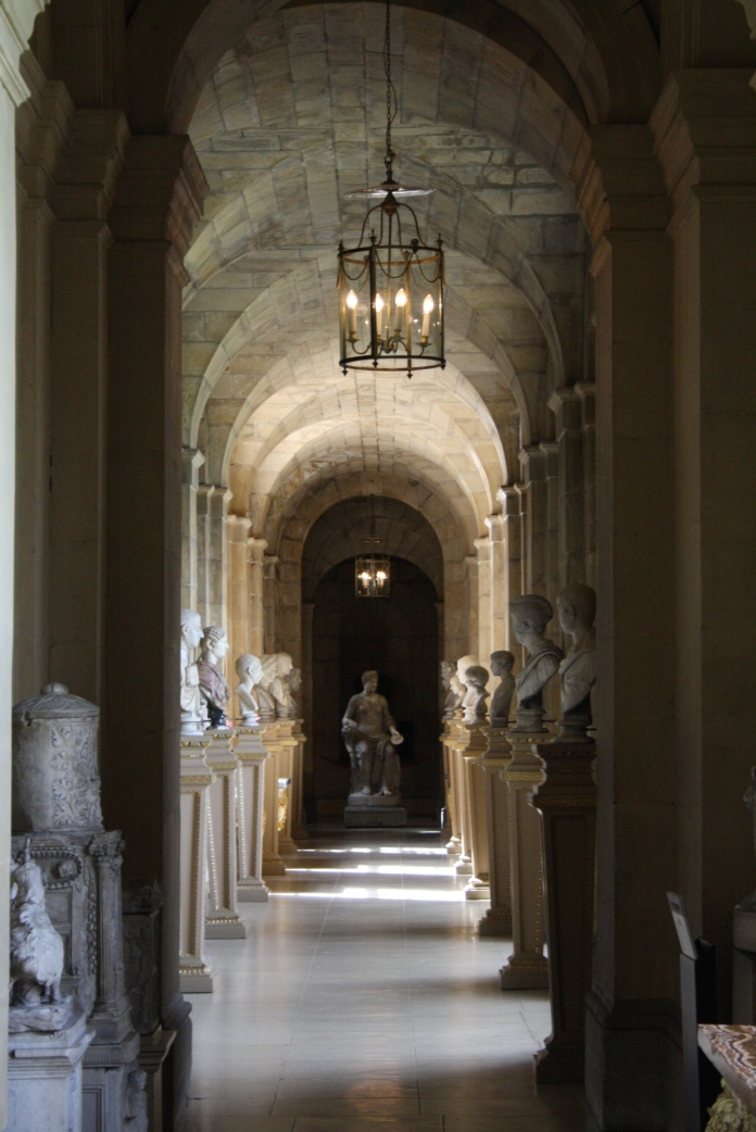 Every home should have a corridor of busts