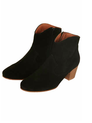 Topshop Annette Western Boots
