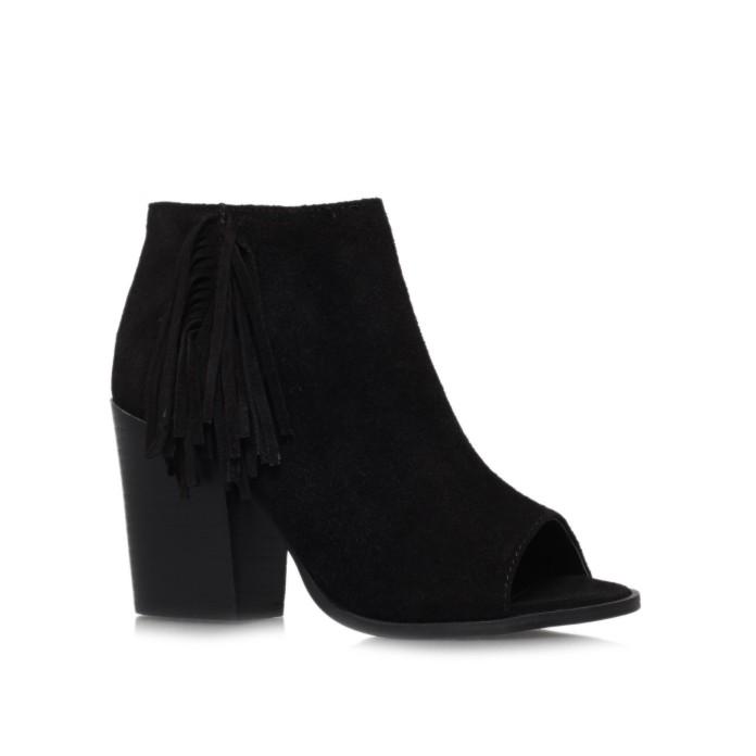 Carvela for Kurt Geiger Shuffle Peep Toe Boots