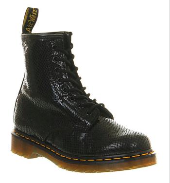 Dr Martens Black Wave Boots