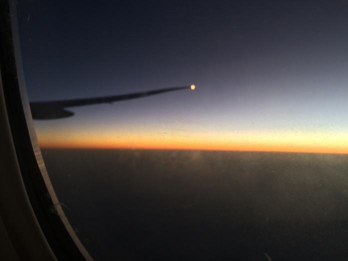 Obligatory aeroplane shot