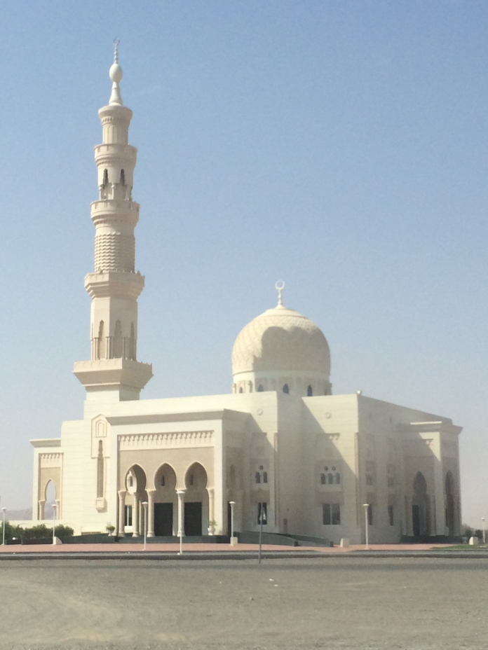 A gorgeous mosque