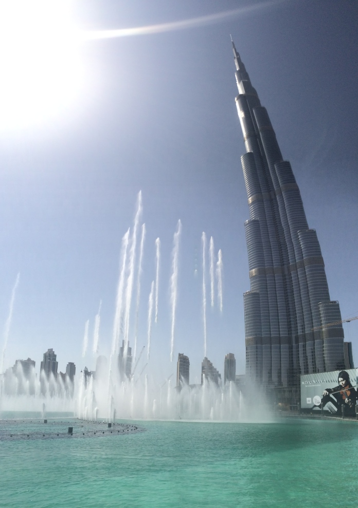 The legendary fountains, also the tallest in the world