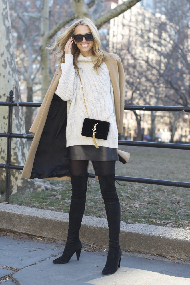 Saint-Laurent-Tassel-Bag-Stuart-Weitzman-Highstreet-Boots-Leather-Miniskirt-10